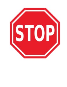 cover Stop Sign