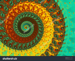 stock-photo-abstract-coil-background-in-brown-yellow-and-turquoise-99211706