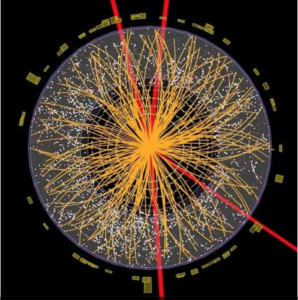 Higgs Boson as depicted by Richard Muller, professor of physics at UC Berkeley, author of Now: The Physics of Time, on Quora.